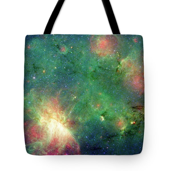 Tote Bag featuring the photograph The Invisible Dragon by NASA JPL-Caltech