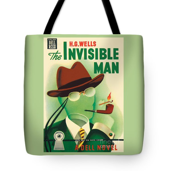 Tote Bag featuring the painting The Invisible Man by Gerald Gregg