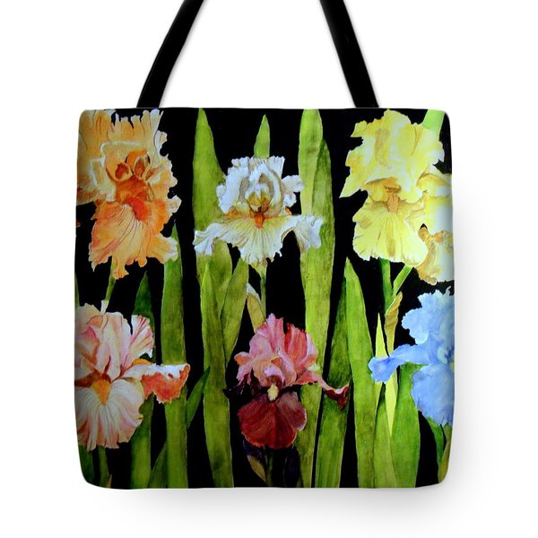 The Iris Garden Tote Bag