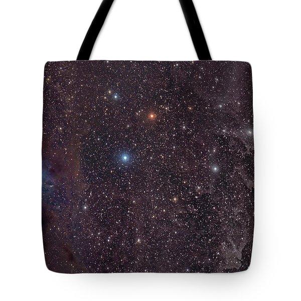 The Iris Nebula In Cepheus Tote Bag by John Davis
