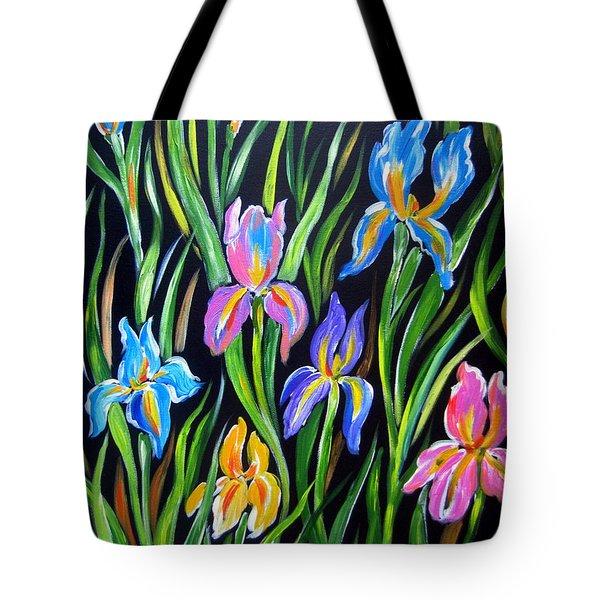 The Irises Tote Bag