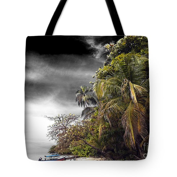 Tote Bag featuring the photograph The Island Fusion by John Rizzuto