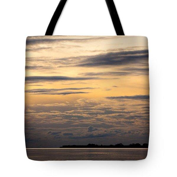 The Island Tote Bag by Konstantin Dikovsky