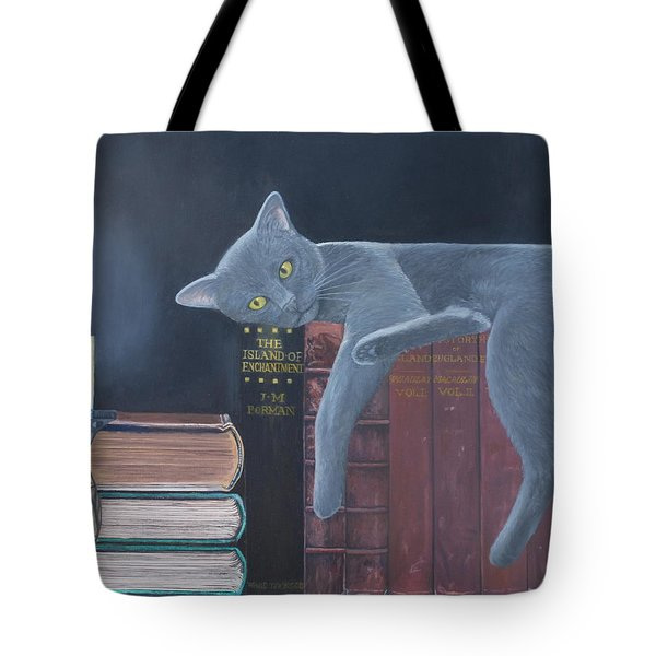 The Island Of Enchantment Tote Bag