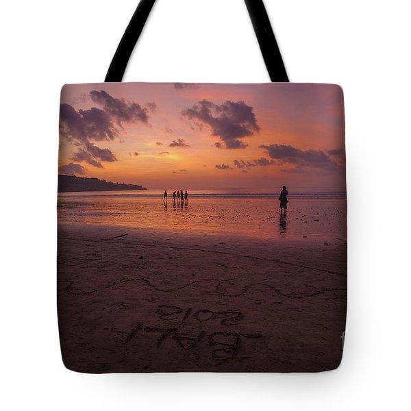 The Island Of God #15 Tote Bag