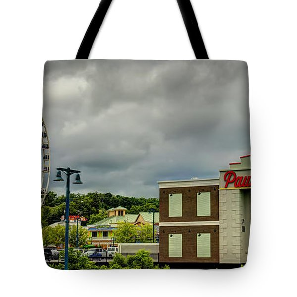 The Island Pigeon Forge Tn Tote Bag