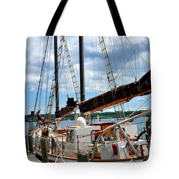 The Island Sea In Suttons Bay Mi Tote Bag