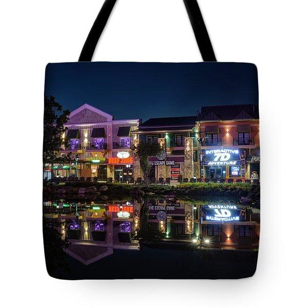 The Island Shops Tote Bag