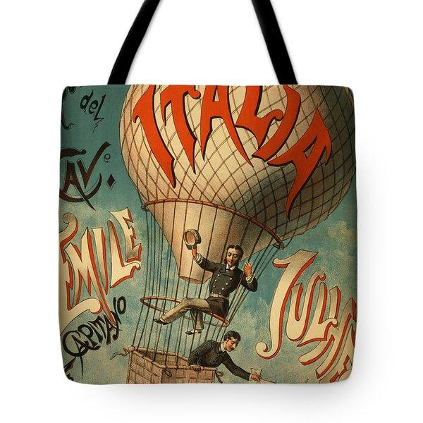 The Italia Ascensione Tote Bag