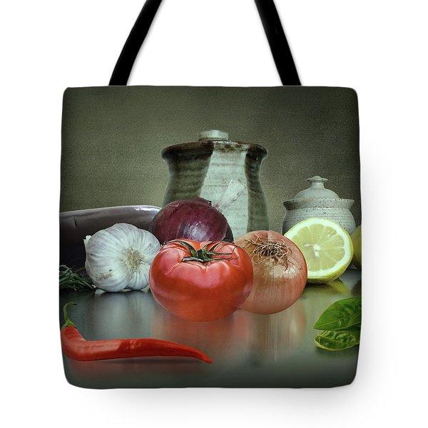 The Italian Kitchen Tote Bag