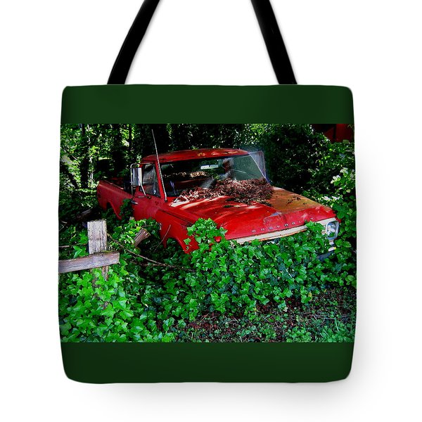The Ivy Chevy Tote Bag