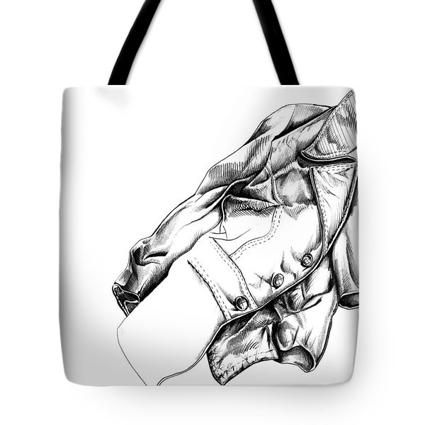 The Jacket Tote Bag by Keith A Link