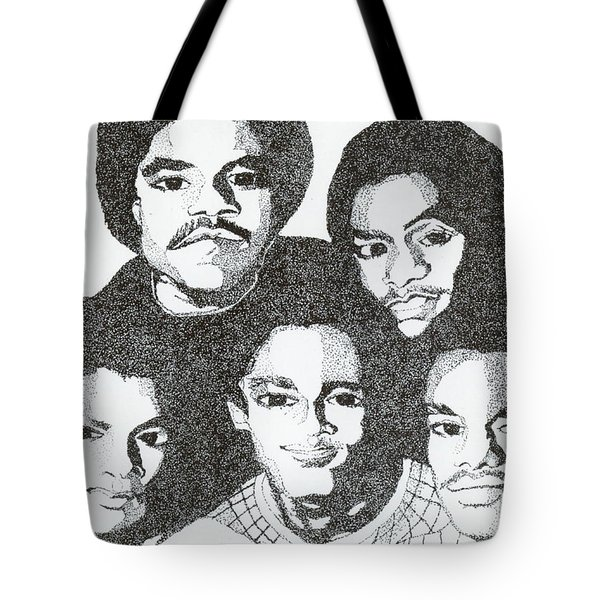 The Jacksons Tribute Tote Bag