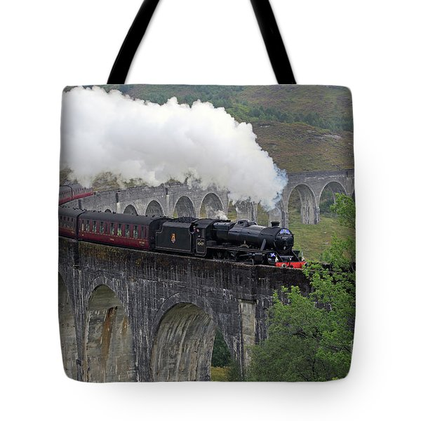 The Jacobite Steam Train Tote Bag