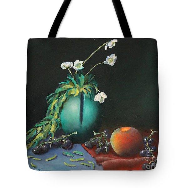 The Jade Vase And Jasmine Tote Bag