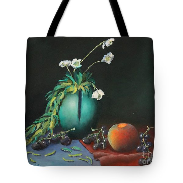 The Jade Vase And Jasmine Tote Bag