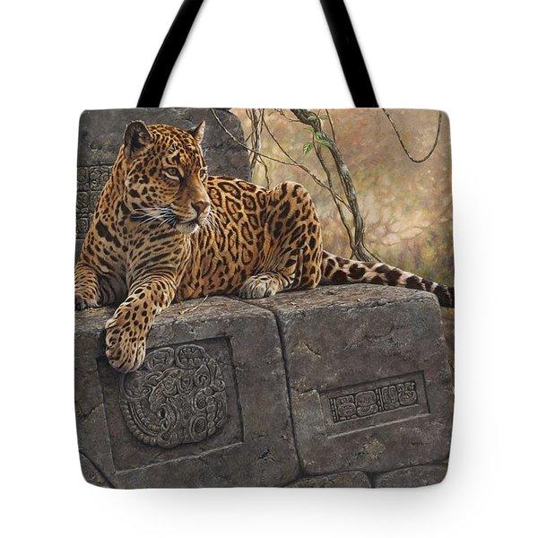 The Jaguar King Tote Bag