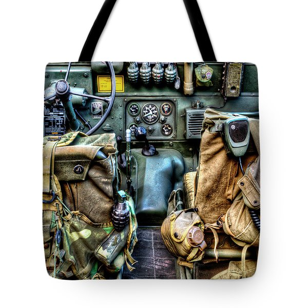 The Jeep 046 Tote Bag