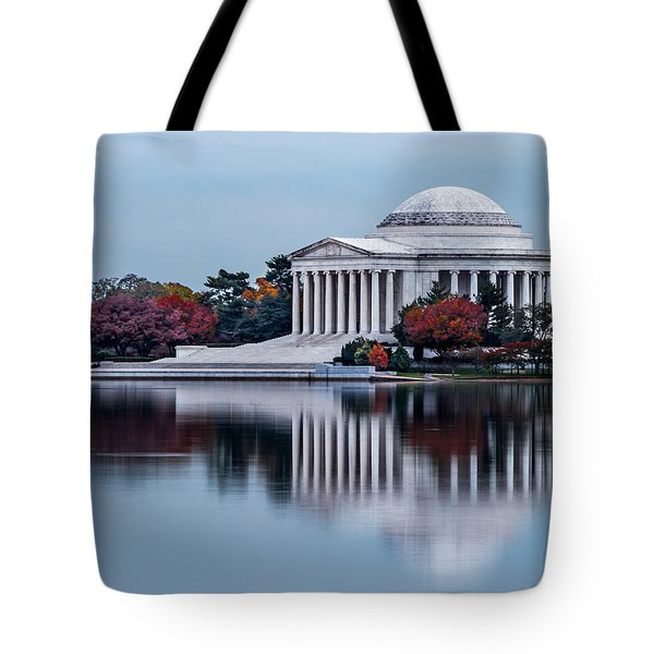 The Jefferson In Baby Blue Tote Bag