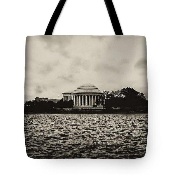The Jefferson Memorial Tote Bag by Bill Cannon