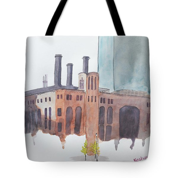 The Jersey City Powerhouse Tote Bag