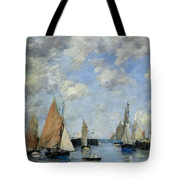 The Jetty At High Tide Tote Bag