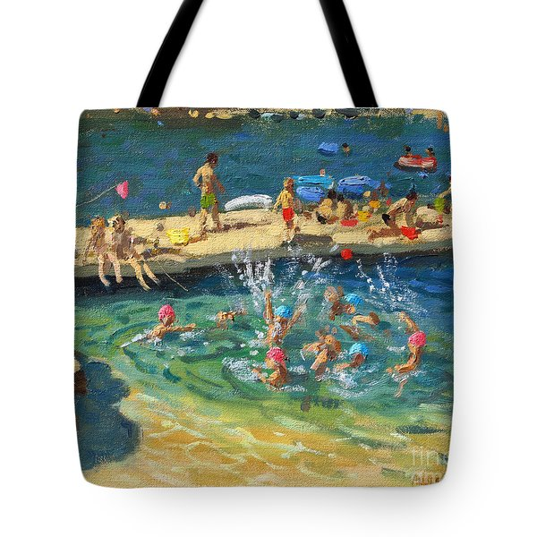 The Jetty, Rovinj, Croatia Tote Bag