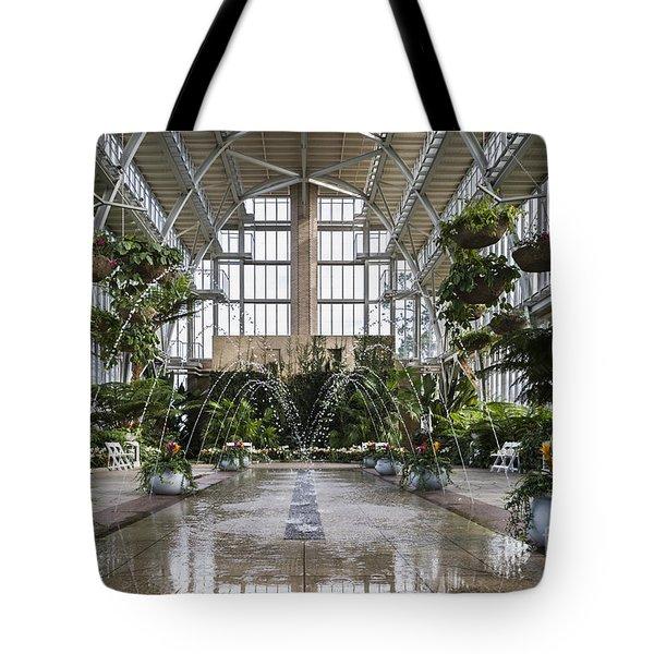 The Jewel Box Fountain Tote Bag