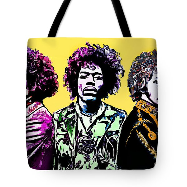 The Jimi Hendrix Experience Tote Bag