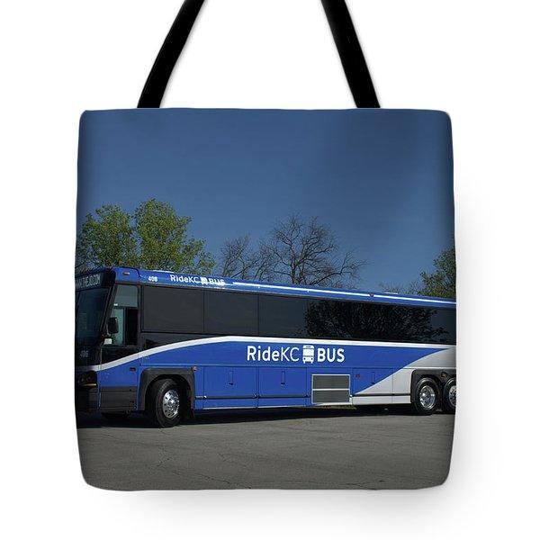 The Jo Bus 406 Mci Tote Bag