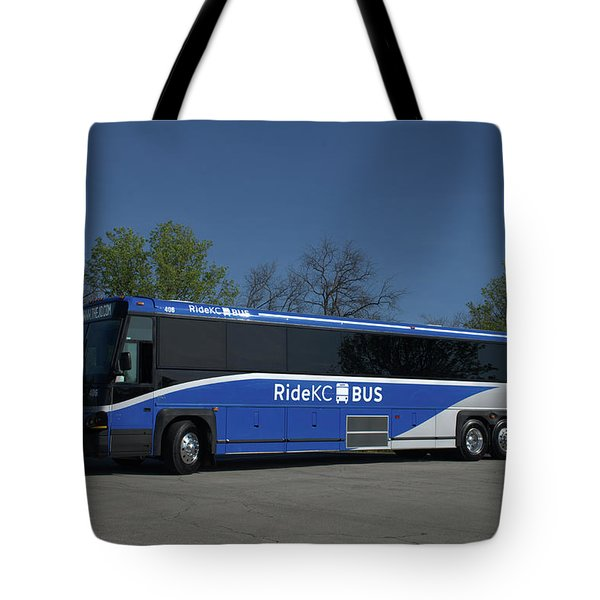 The Jo Bus 406 Mci Tote Bag by Tim McCullough