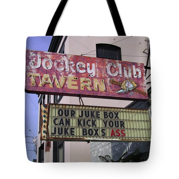 The Jockey Club Tote Bag
