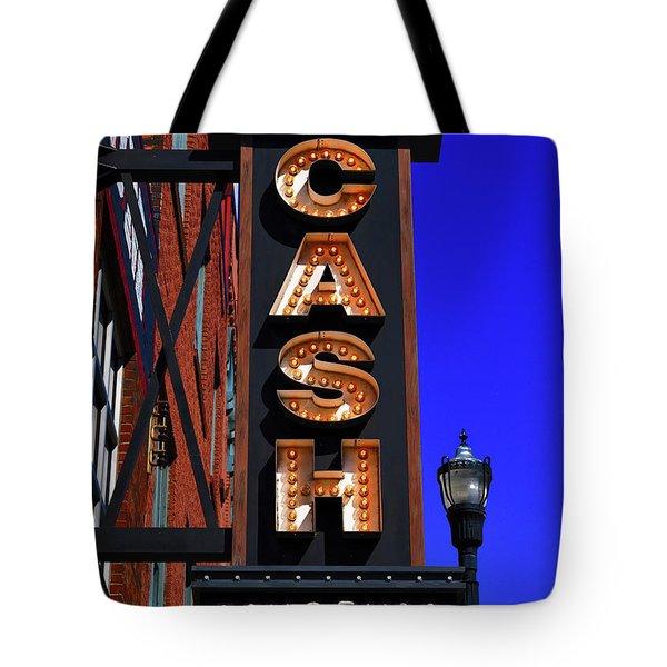 The Johnny Cash Museum - Nashville Tote Bag