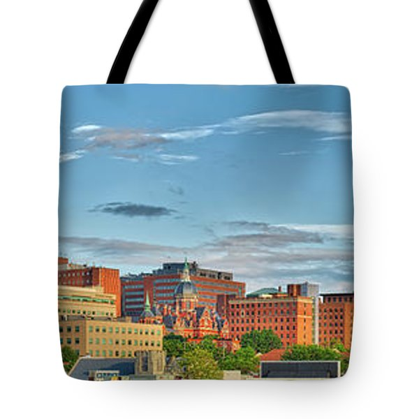 Tote Bag featuring the photograph The Johns Hopkins Hospital Complex by Mark Dodd