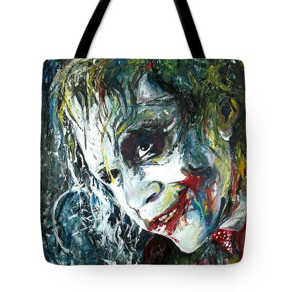 The Joker - Heath Ledger Tote Bag