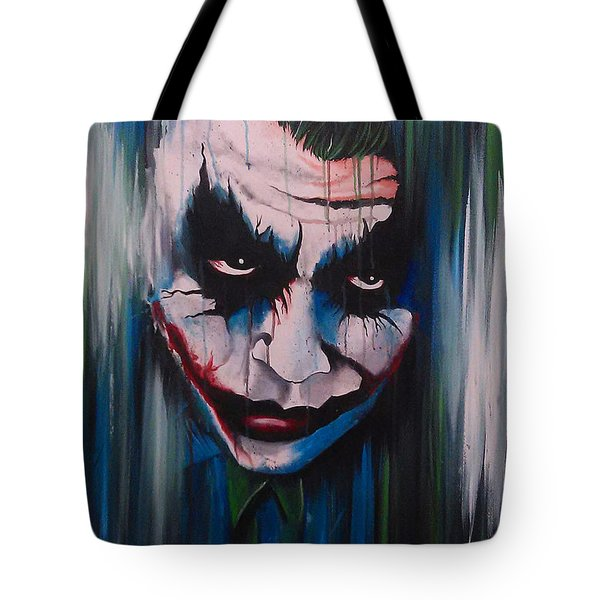 The Joker Tote Bag by Michael Walden
