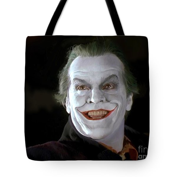 The Joker Tote Bag by Paul Tagliamonte