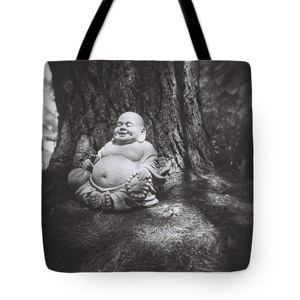 The Jolly Buddha Tote Bag