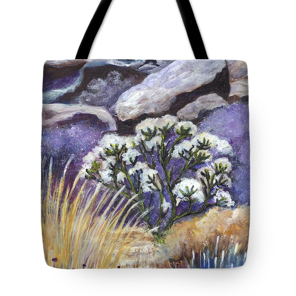 The Joshua Tree Tote Bag by Carol Wisniewski