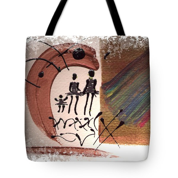 The Journey Tote Bag by Angela L Walker
