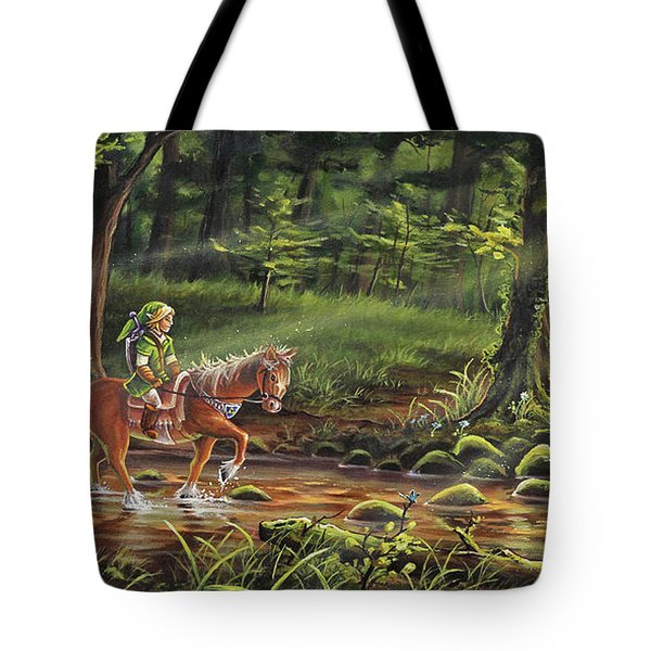 The Journey Begins Tote Bag by Joe Mandrick