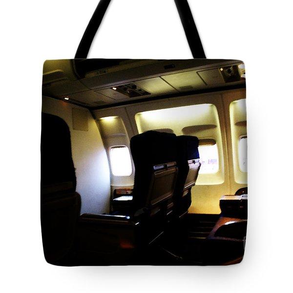 The Journey Begins Tote Bag by Linda Shafer
