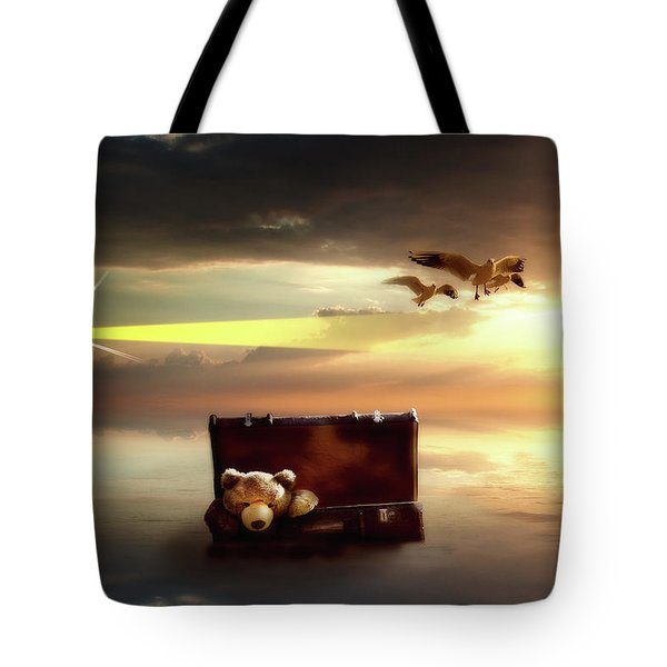 The Journey Begins  Tote Bag by Nathan Wright