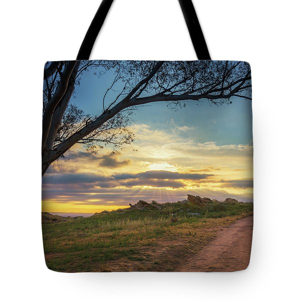 The Journey Home Tote Bag by Tassanee Angiolillo