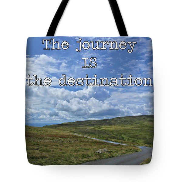 Tote Bag featuring the photograph The Journey Is The Destination by Colin Clarke