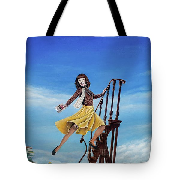 The Journey Of A Librarian Tote Bag by Cindy D Chinn
