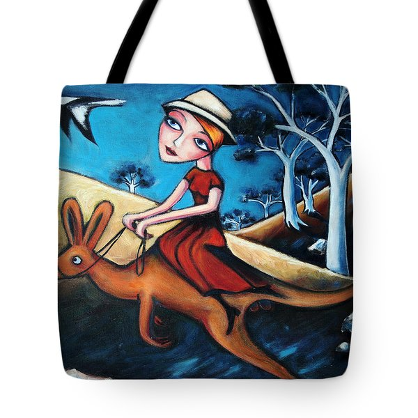 The Journey Woman Tote Bag by Leanne Wilkes