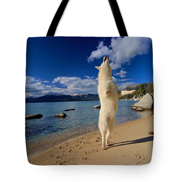 The Joy Of Being Well Loved Tote Bag
