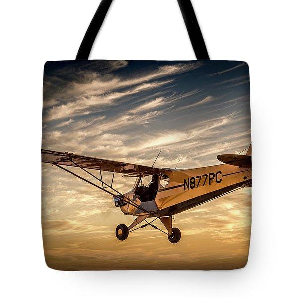 The Joy Of Flight Tote Bag