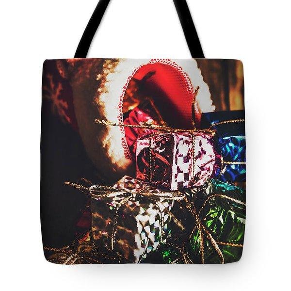 The Joy Of Giving On Christmas Tote Bag